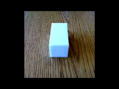 Foldable Rectangular Prism