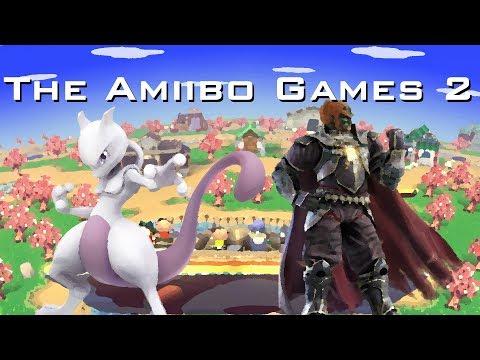 The Amiibo Games 2 - Semifinals Set 2   Espeon (Mewtwo) vs. Evil King (Ganondorf)