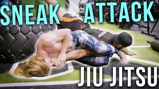 Jiu Jitsu Sneak Attacks - Ultra Spiritual Life episode 81