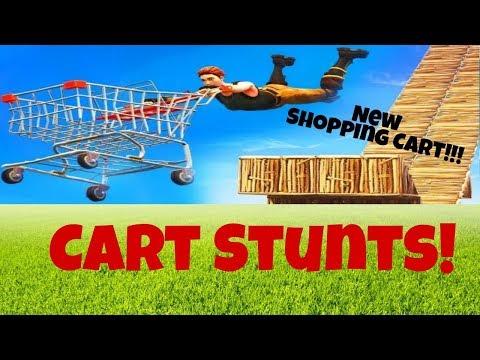 Shopping Cart Stunt!!!   Fortnite