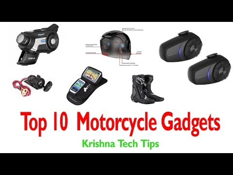 Top 10 motorcycle accessories || motorcycle gadgets ||