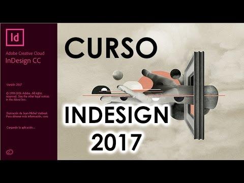 CURSO DE ADOBE INDESIGN CC 2017 - COMPLETO