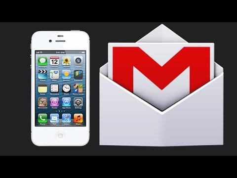 Cara membuat email Gmail di iPhone 4