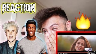 REACTING TO JAKE PAUL KSI & SIDEMEN DISS TRACK! SHOULD I MAKE A DISS TRACK?!