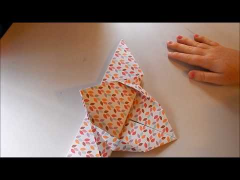 Making a Simple Origami Butterfly ^_^