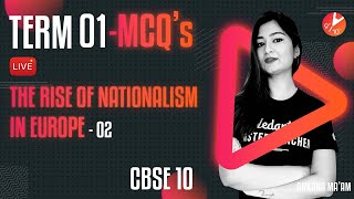 Term 1 MCQ's - The Rise of Nationalism in Europe L-2   CBSE Class 10 History Chapter 1   Vedantu SST