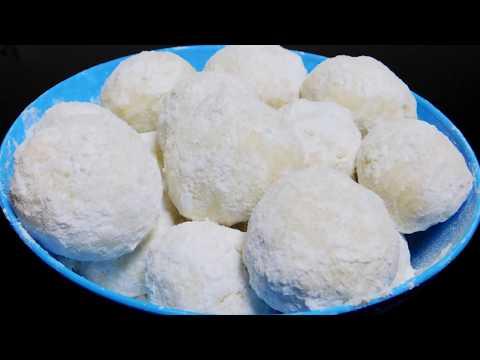 Cashew Snowball Cookies Recipe   Easy Christmas Cookies Recipe