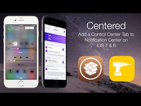 Centered: Add a Control Center Tab to Notification Center on iOS 7 & 8