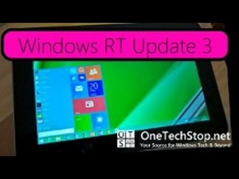 Windows RT Update 3, How to Enable Start Menu