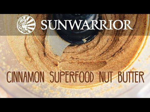 Cinnamon Superfood Nut Butter Recipe | Party in My Plants