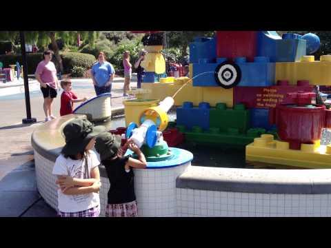 Water pistol (Legoland in Anaheim, CA)