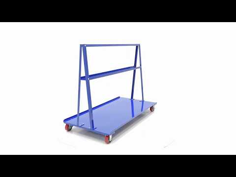 A-Frame Cart for Drywall and Plywood