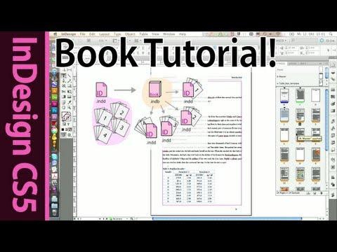 Advanced InDesign Book tutorial (Part 13)