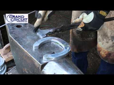 Welding Aluminum Horseshoes