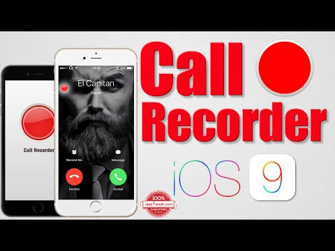 Call Recorder iOS : Record iPhone,FaceTime,WhatsApp,Skype..Conversations - iOS 9