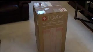 IQAir HealthPro Plus Series Air Purifier - Unboxing and Review