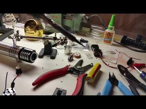 Lightsaber Build Tutorial for New Saber Builders