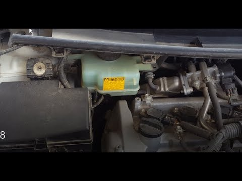 Toyota Aqua/Prius C How to check the Brake Fluid and how to remove the top cover in URDU.