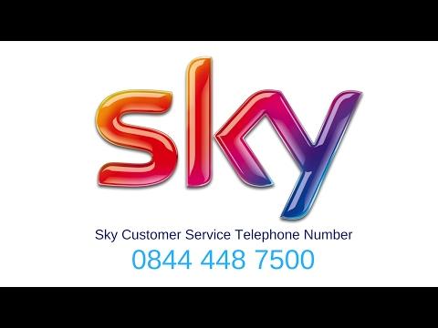 Sky Phone Number | 0844 448 7500