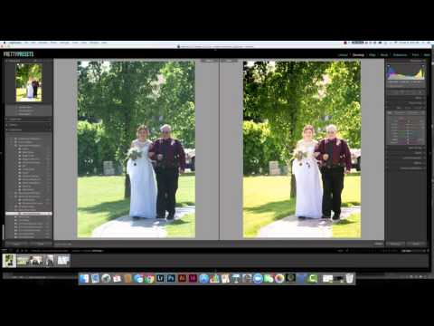 Using Lightroom's Hue Panel to Make Green Grass