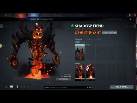 Mod Dota Shadow Fiend Demon Eater Arcana