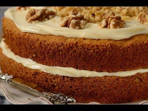 Carrot Cake Recipe Demonstration - Joyofbaking.com