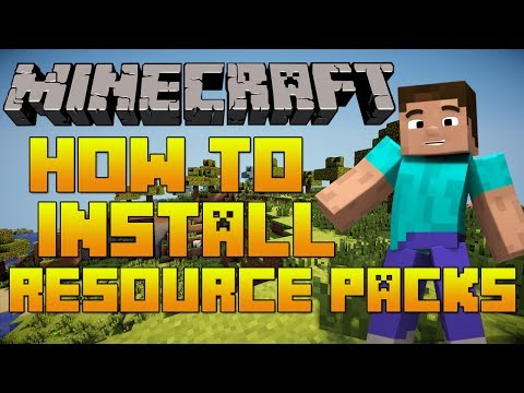 How To Install Resource Packs On Minecraft 1.7.4! (Texture Packs)