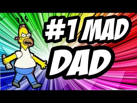 FUNNY MW3 MADDEST DAD EVER! Part 1 (Call of Duty Mad Dad)