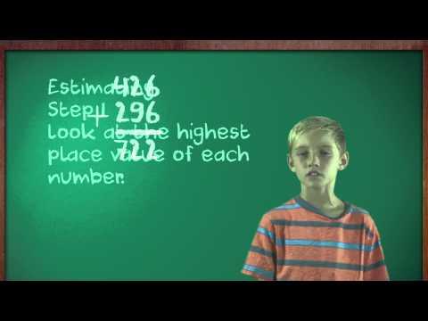 Kids Teach Math: Estimating