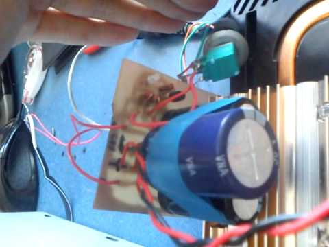tda 1562 + радиотехника с-70