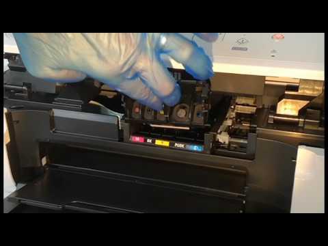 Remove print head for Canon MG5750 MG5751 printer