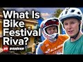 Checking out Bike Festival Riva w/ Scotty Laughland