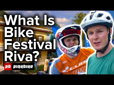 Checking out Bike Festival Riva w/ Scotty Laughland