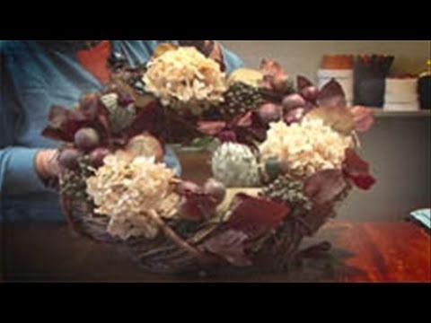 How To Make Silk Flower Wreaths