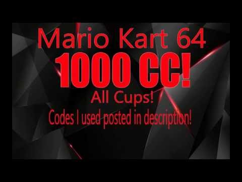 Mario Kart 64 1000 CC! ALL CUPS!