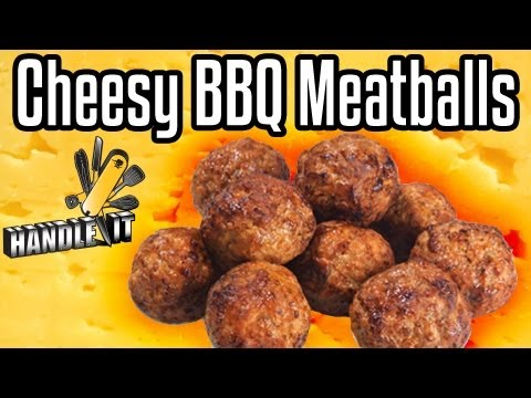 Handle It - Cheesy BBQ Meatballs