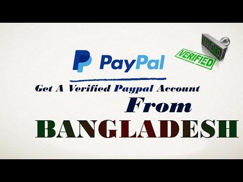 Get a verified PayPal account From Bangladesh - Bangla Tutorial 2016