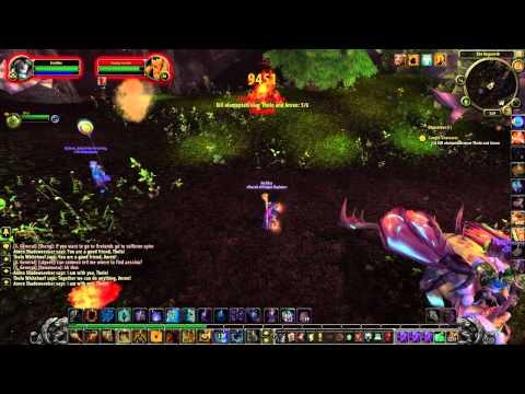 World of Warcraft: Patch 4.2; Fireland's dailies in Mount Hyjal - Arcadius!