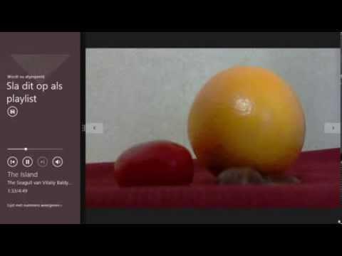 Demo Windows 8.1 tablet & tegels, apps, store