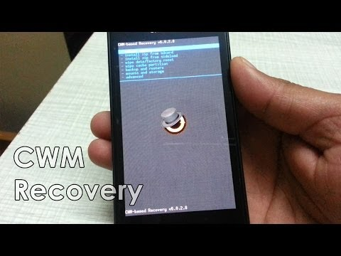How to install CWM Temporary Recovery in Samsung Galaxy S Advance I9070