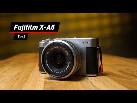 Fujifilm X-A5: Kompakte Systemkamera im Test
