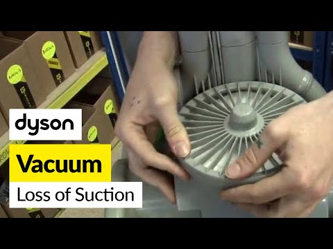How to fix loss of suction Dyson DC04 vacuum cleaner
