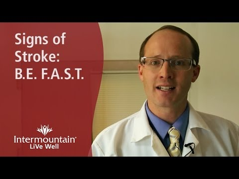 Know the Signs of Stroke: B.E. F.A.S.T.