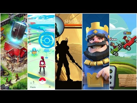 Top 5 Android Games You Must Play (Games That Rocked 2016)