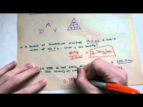 Density Problems with the splediferous density triangle