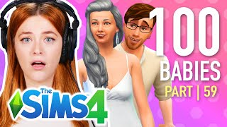 Single Girl Tries The 100 Baby Challenge In The Sims 4 | Part 59