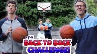 UNBELIEVABLE BACK-TO-BACK FULL COURT CHALLENGE!! (Real Life Basketball)