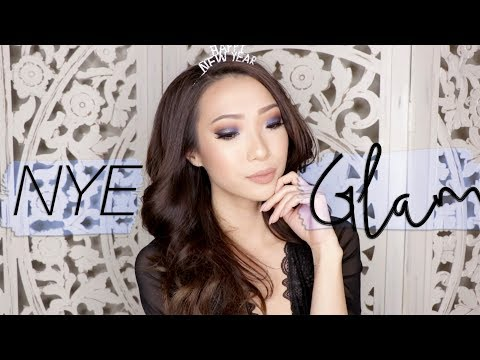 New Year's Eve Glam Makeup Look! 2017 GRWM