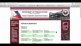 Dfa Passport Appointment Tutorial Video 2013