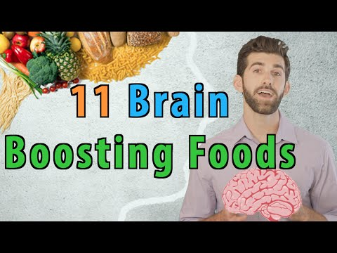 11 Brain Boosting Foods | That Enhance Memory and Focus